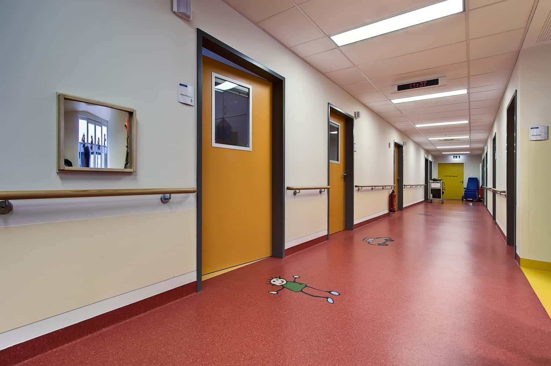 Pvc In Hospital Interiors