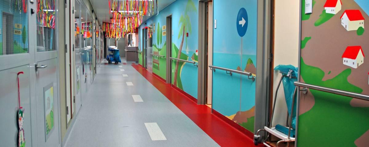 Flooring child ward