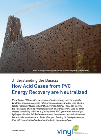 Understanding the Basics: How Acid Gases from PVC Energy Recovery are Neutralized