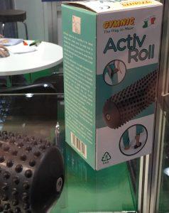 PVC roller seen at Medica 2016