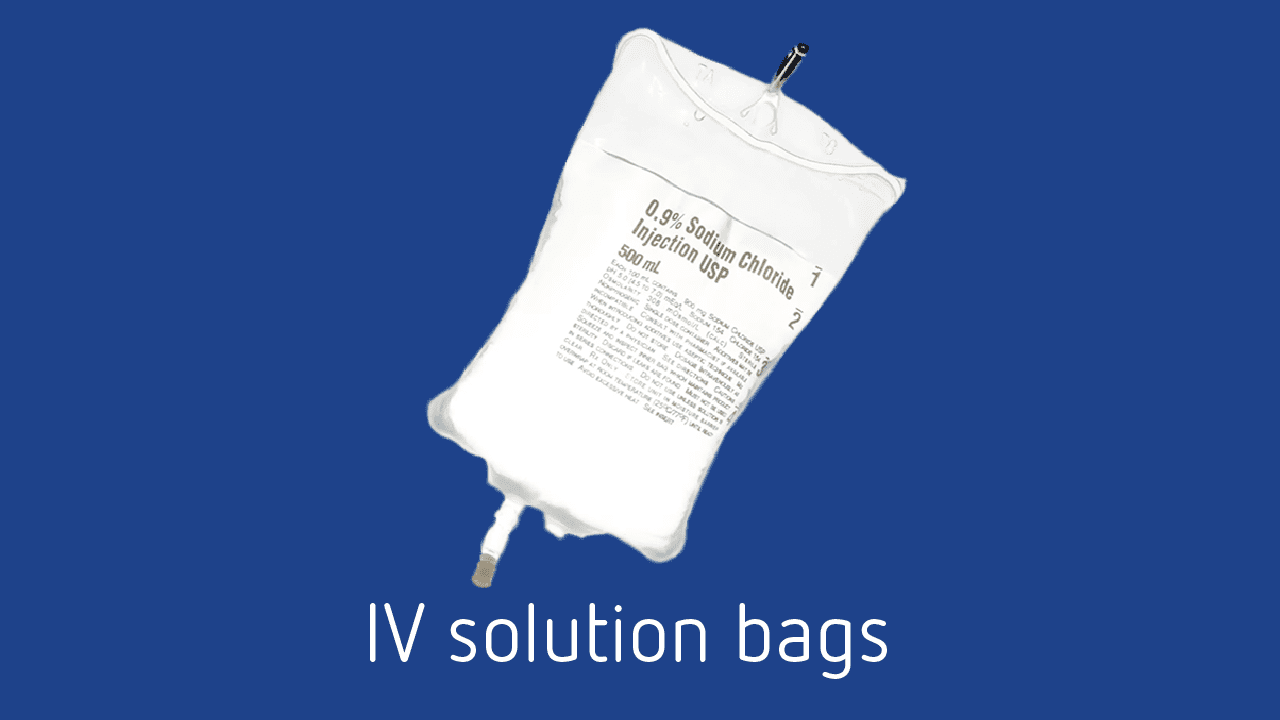 iv solution pvc recycling
