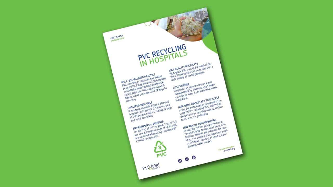 pvc hospitals recycling circular economy factsheet