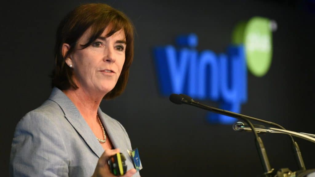 Brigitte Dero, General Manager, VinylPlus.